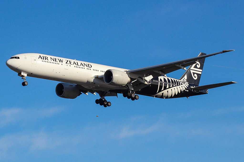 Boeing 777 300ER ZK OKO Air New Zealand at London Heathrow Airport