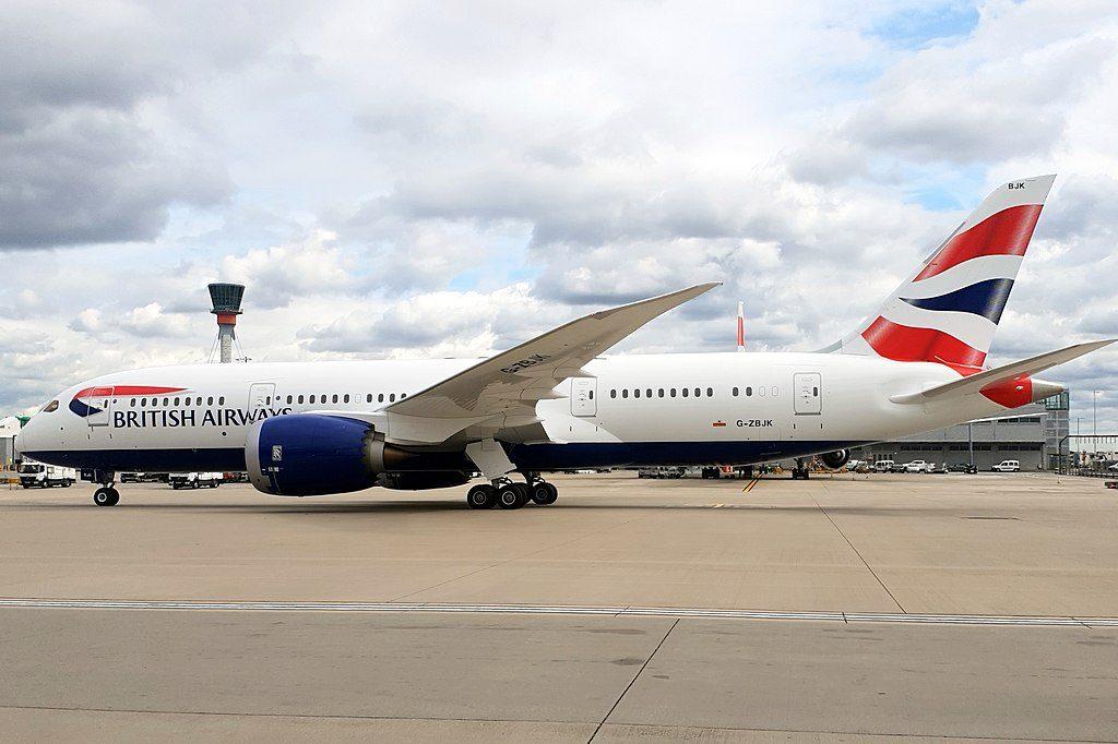 Boeing 787 8 Dreamliner G ZBJK British Airways taxiing at London Heathrow Airport