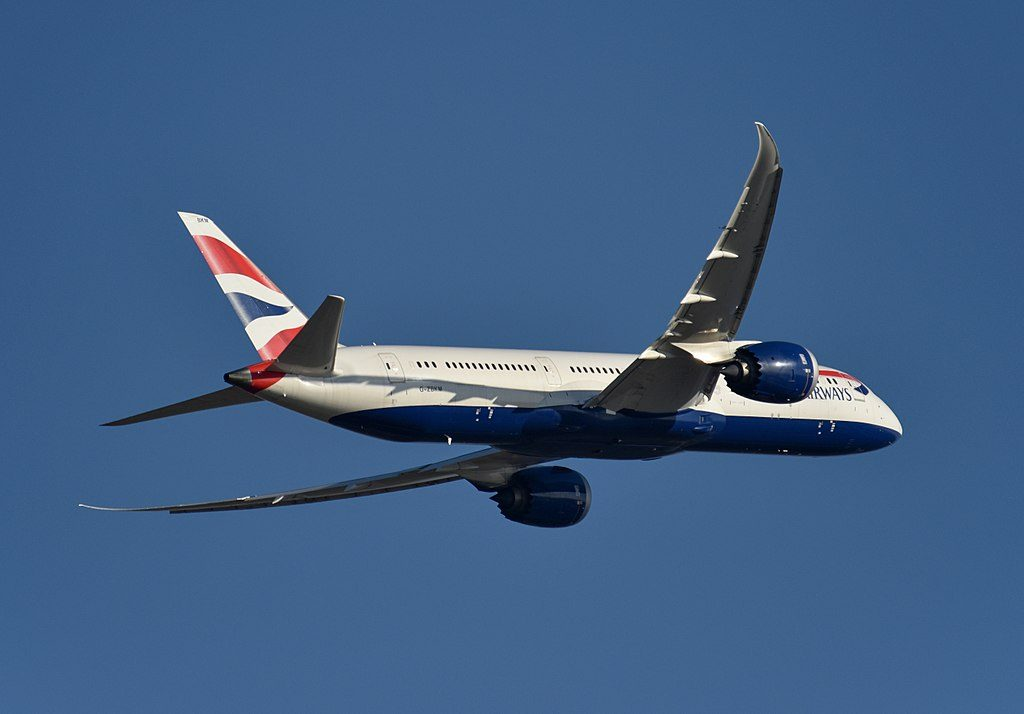 Boeing 787 9 Dreamliner British Airways G ZBKM at Beijing Capital International Airport