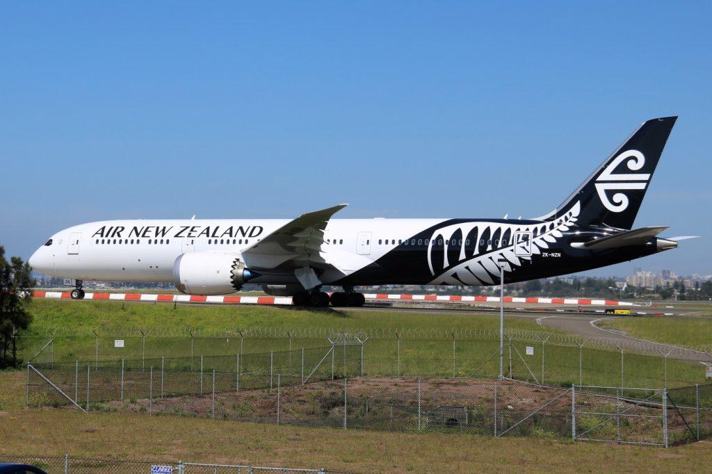 Boeing 787 9 Dreamliner ZK NZN Air New Zealand