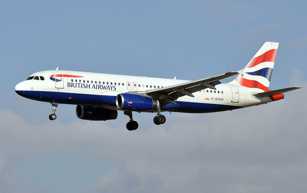 British Airways Airbus A320 200 G EUUH at Barcelona–El Prat Airport