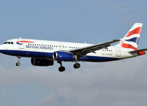 British Airways Airbus A320 200 G EUUH at Barcelona–El Prat Airport