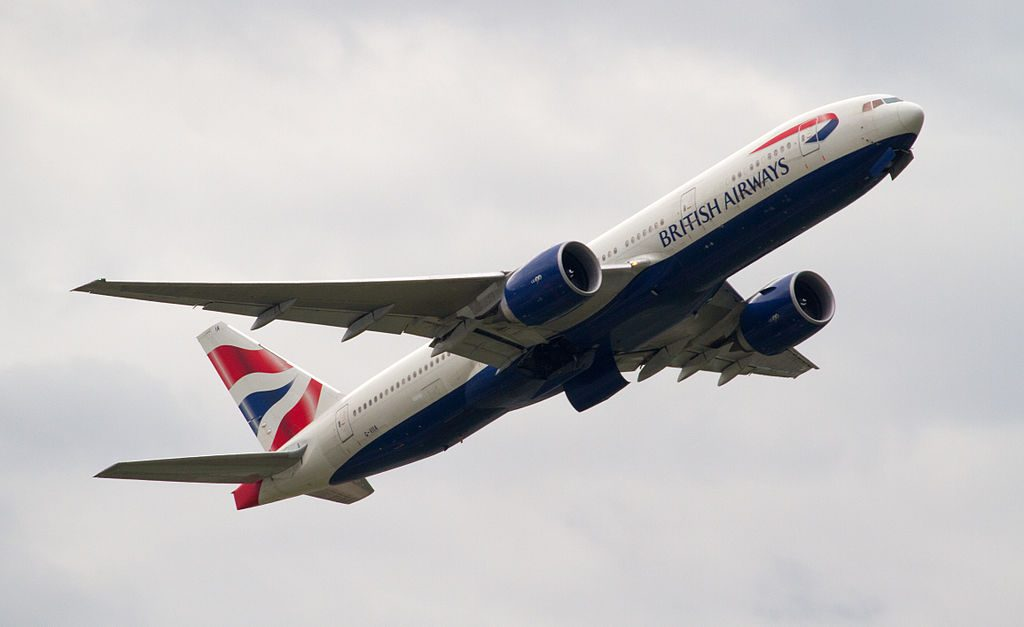 British Airways Boeing 777 236ER G VIIA at London Heathrow Airport