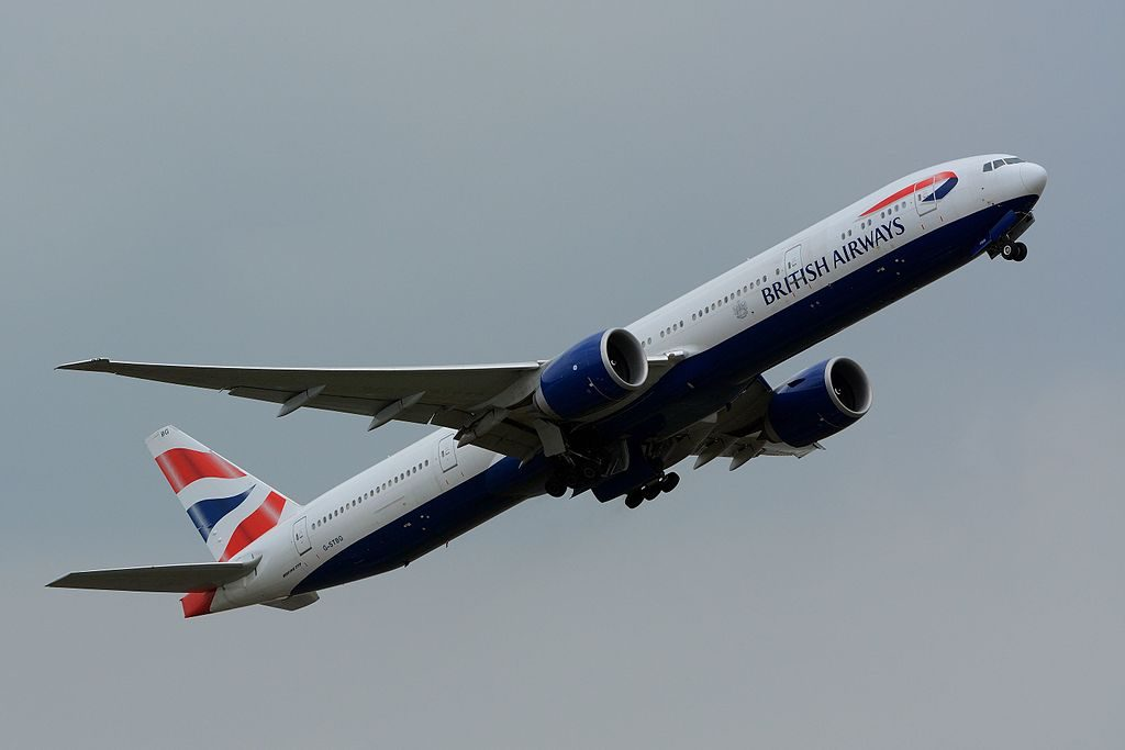 British Airways Boeing 777 300ER G STBG at Narita International Airport NRT