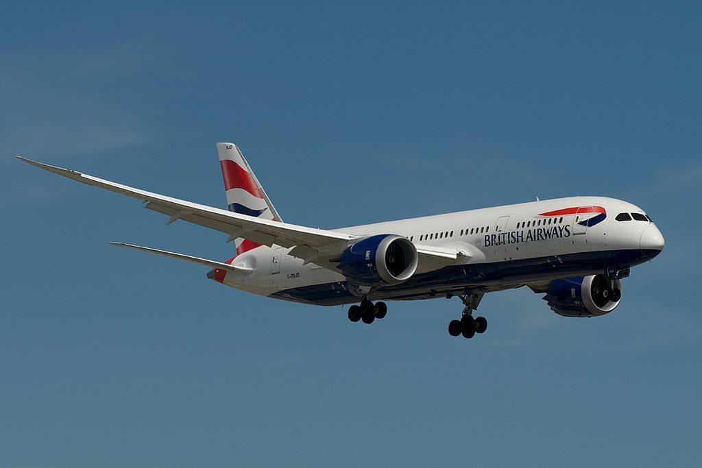 British Airways Boeing 787 8 Dreamliner G ZBJD at Toronto Pearson International Airport