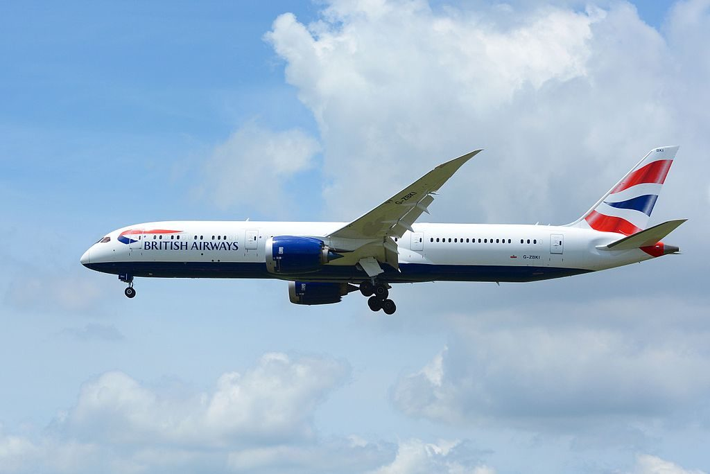 British Airways Boeing 787 9 Dreamliner G ZBKI at Narita International Airport NRT