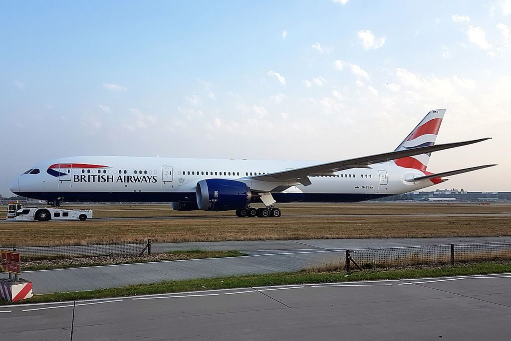 British Airways Boeing 787 9 Dreamliner G ZBKN at London Heathrow Airport