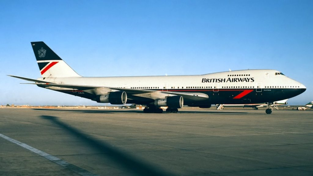 British Airways G BNLY Boeing 747 436 on Landor 1984 1997 retro livery cs