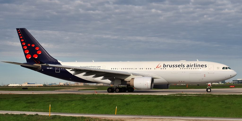 Brussels Airlines Airbus A330 223 OO SFT at Toronto Pearson Airport