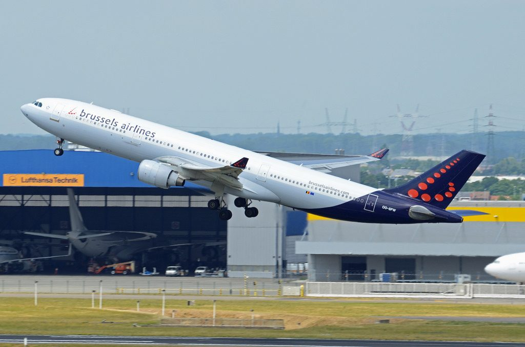 Brussels Airlines Airbus A330 322 OO SFW