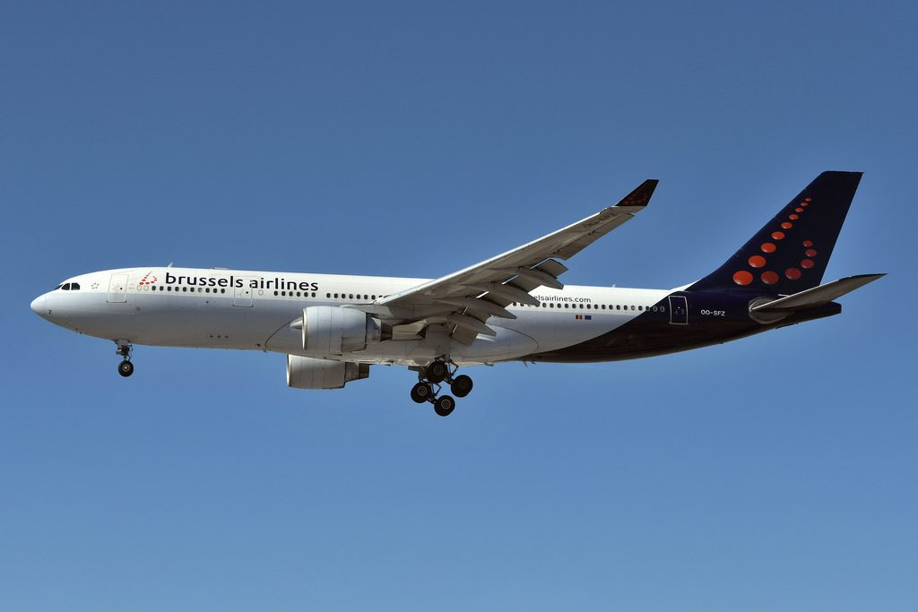 Brussels Airlines OO SFZ Airbus A330 223 at Toronto Pearson CYYZ