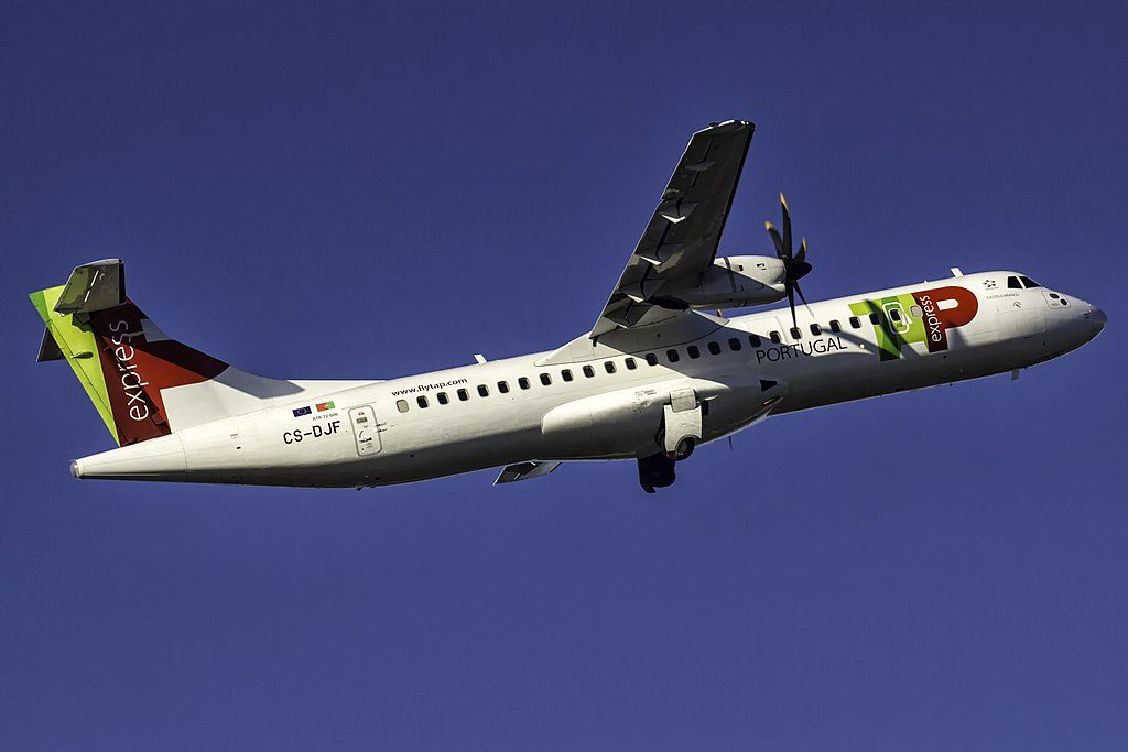 CS DJF ATR 72 600 Castelo Branco of TAP Express White Airways at Porto International Airport