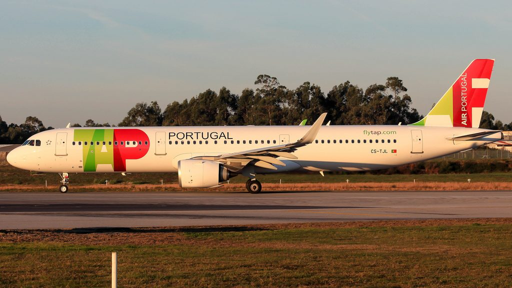 CS TJL TAP Air Portugal Airbus A321 251N Zé Pedro at Porto Airport