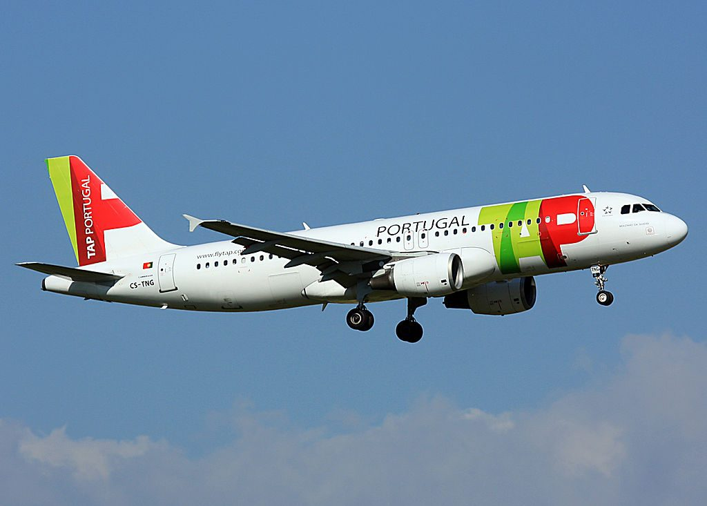 CS TNG Airbus A320 214 Mouzinho da Silveira of TAP Portugal at Amsterdam Airport Schiphol
