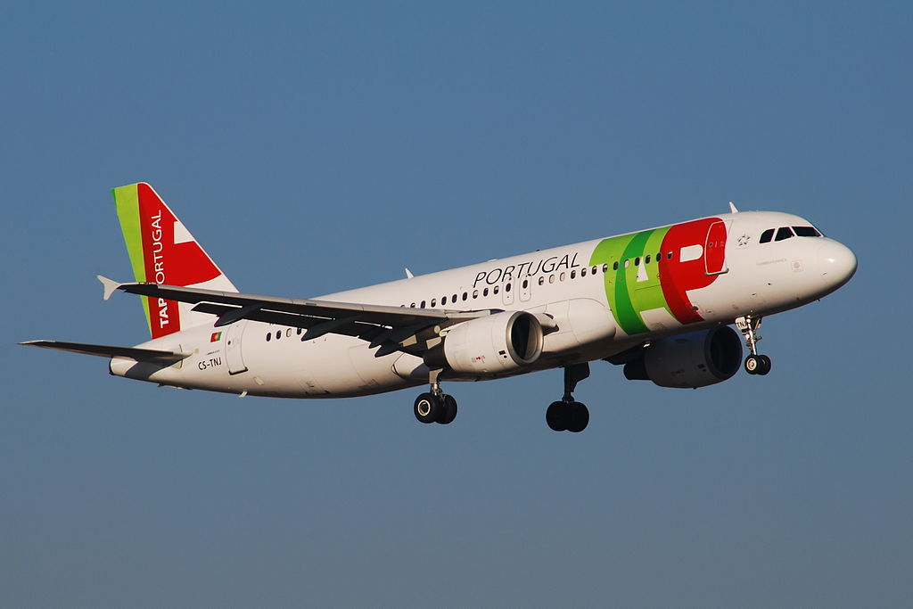 CS TNJ Airbus A320 214 Florbela Espanca of TAP Portugal at Paris Orly Airport
