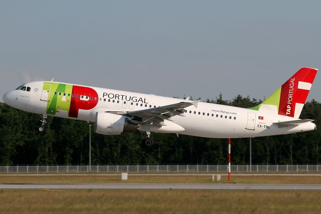 CS TNL Airbus A320 214 Vitorino Nemesio TAP Portugal at Frankfurt Airport