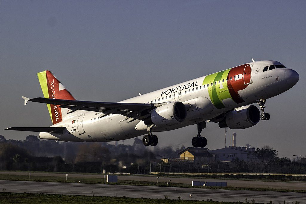 CS TNM Airbus A320 214 Natalia Correia of TAP Portugal at Porto International Airport
