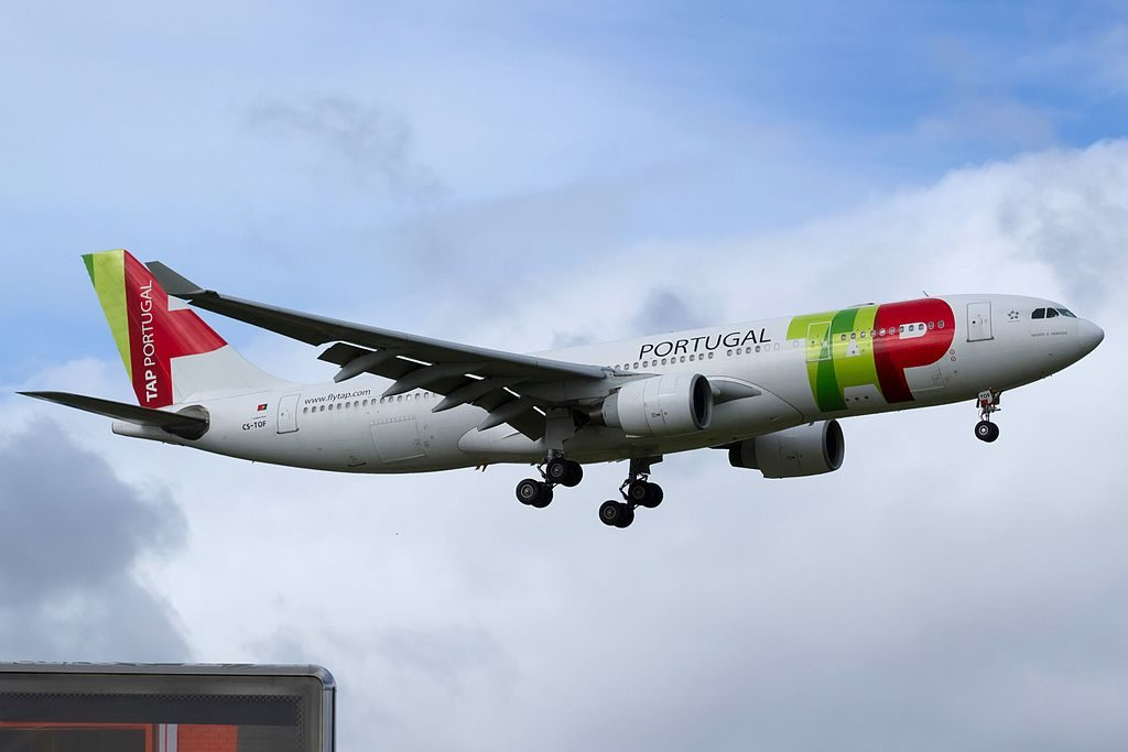CS TOF Airbus A330 223 Infante D. Henrique of TAP Portugal at Lisbon Portela Airport