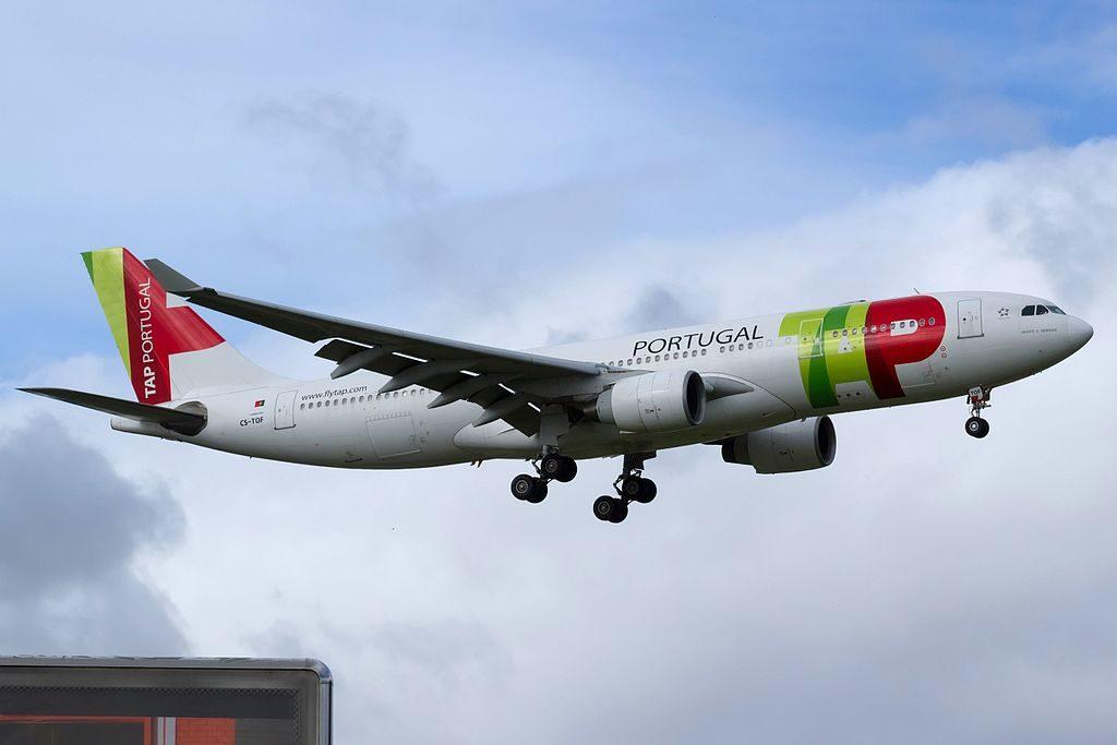 CS TOF Airbus A330 223 Infante D. Henrique of TAP Portugal at Lisbon Portela Airport
