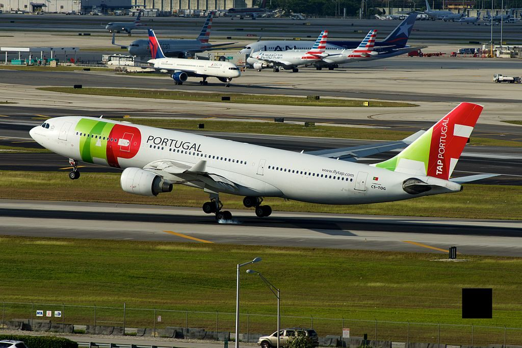 CS TOG Airbus A330 223 Bartolomeu de Gusmao of TAP Portugal at Miami International Airport
