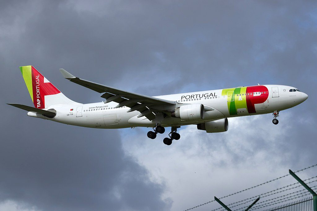 CS TOI Airbus A330 223 Damião de Góis of TAP Portugal at Lisbon Portela Airport