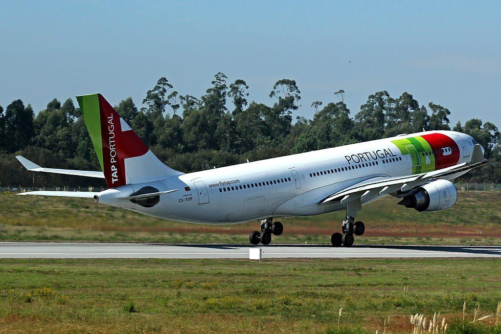 CS TOP Airbus A330 202 Pedro Nunes of TAP Portugal at Porto International Airport