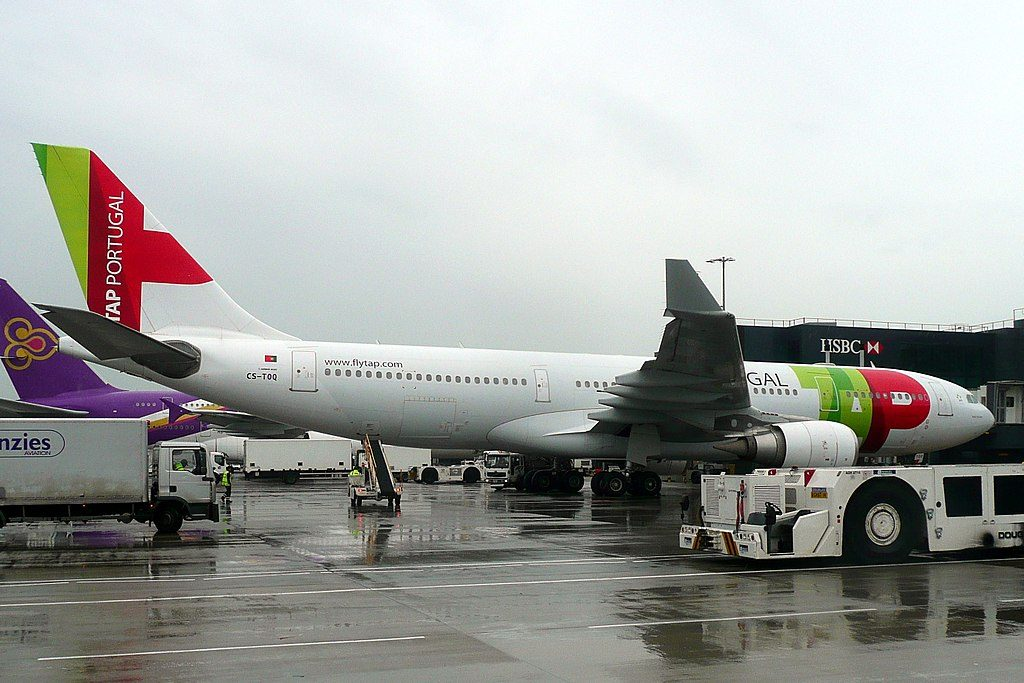 CS TOQ Airbus A330 203 Pedro Teixeira of TAP Portugal at London Heathrow Airport