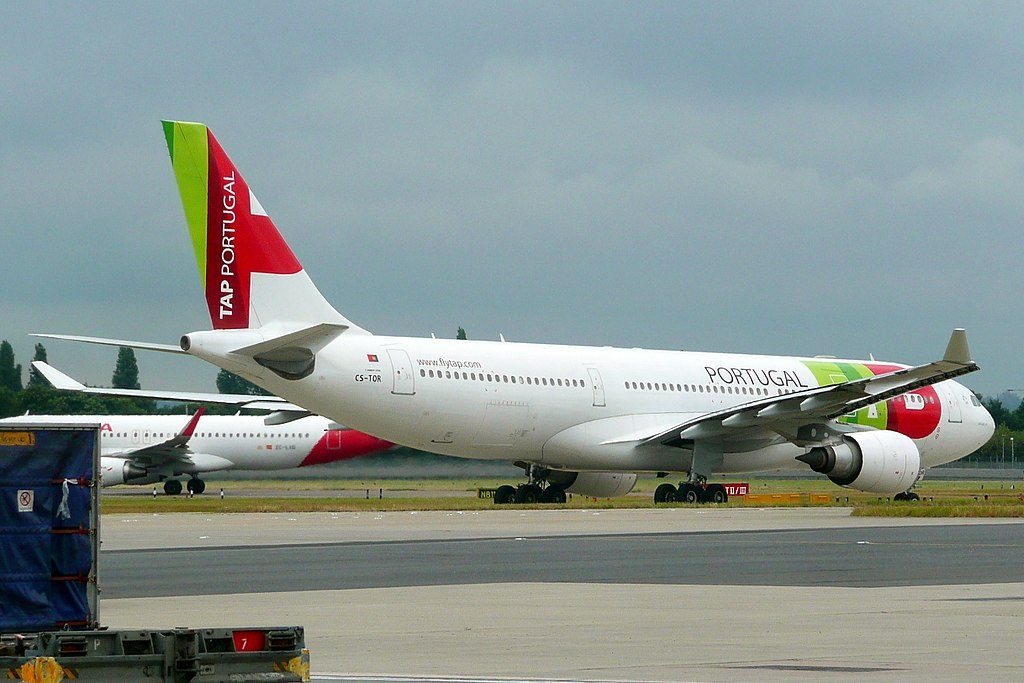 CS TOR Airbus A330 203 Bartolomeu Dias of TAP Portugal at London Heathrow Airport