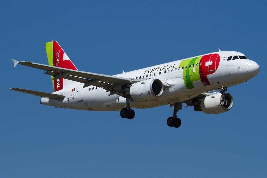 CS TTA Vieira da Silva Airbus A319 111 TAP Air Portugal at Bologna Guglielmo Marconi Airport