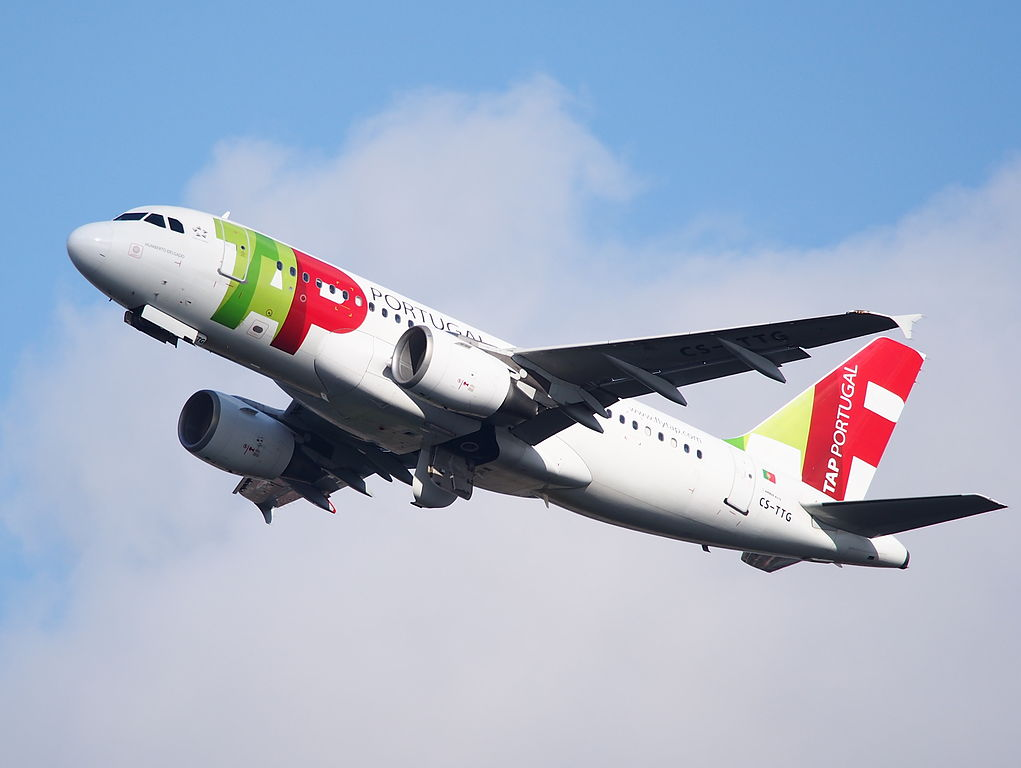 CS TTG Airbus A319 111 Humberto Delgado of TAP Air Portugal at Amsterdam Airport Schiphol