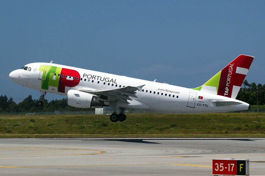 CS TTL Airbus A319 111 Almeida Garrett of TAP Portugal at Porto International Airport