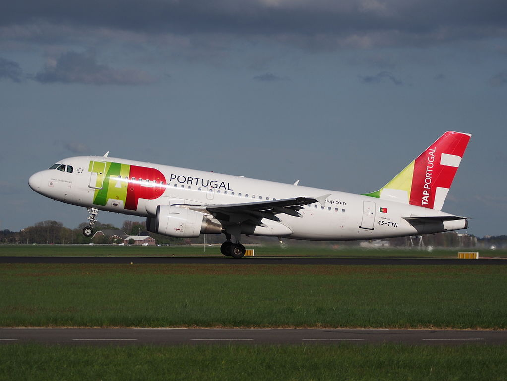 CS TTN TAP Air Portugal Airbus A319 111 Camilo Castelo Branco at Amsterdam Airport Schiphol
