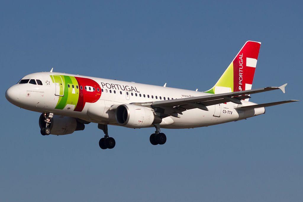 CS TTV Airbus A319 112 Aristides de Sousa Mendes of TAP Portugal at Barcelona Airport