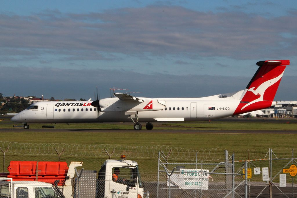 De Havilland Canada DHC 8 402NG Qantaslink VH LQQ Darling Downs