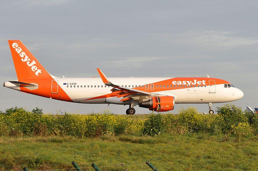 EasyJet Airbus A320 214WL G EZOP at Paris Charles de Gaulle Airport CDG