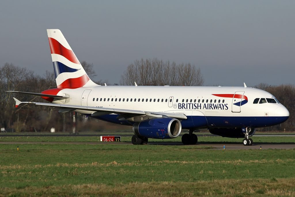 G DBCE Airbus A319 131 British Airways at Rotterdam The Hague Airport