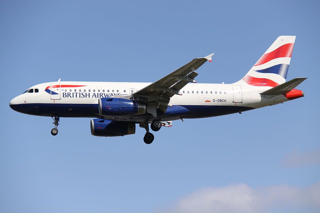 G DBCH Airbus A319 100 of British Airways at London Heathrow Airport