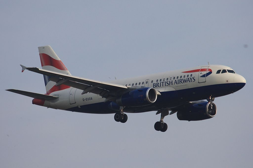 G EUOA Airbus A319 131 British Airways at London Heathrow Airport