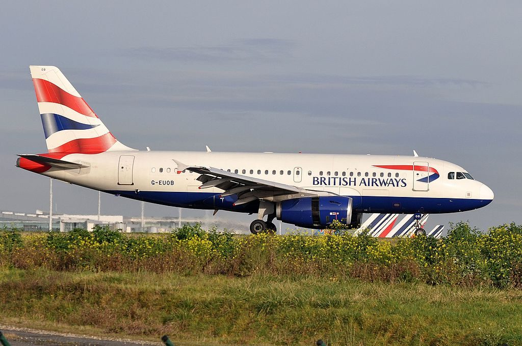 G EUOB Airbus A319 100 of British Airways at Paris Charles de Gaulle Airport