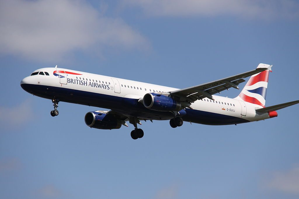 G EUXJ Airbus A321 200 British Airways at London Heathrow Airport