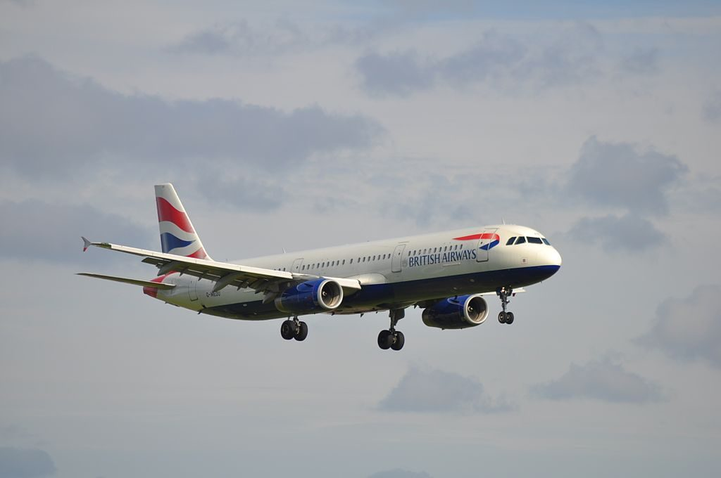 G MEDU Airbus A321 200 of British Airways at London Heathrow Airport