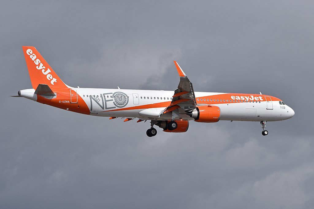 G UZMA A321 251NX of EasyJet at Tenerife South Airport