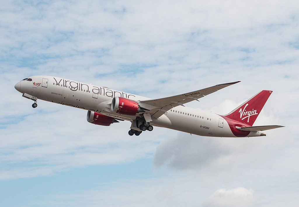 G VCRU Boeing 787 9 Dreamliner Virgin Atlantic 22Olivia Rae22 at London Heathrow Airport