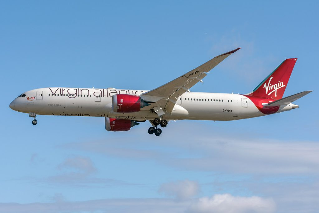 G VDIA Virgin Atlantic Airways Boeing 787 9 Dreamliner Lucy in the Sky at London Heathrow