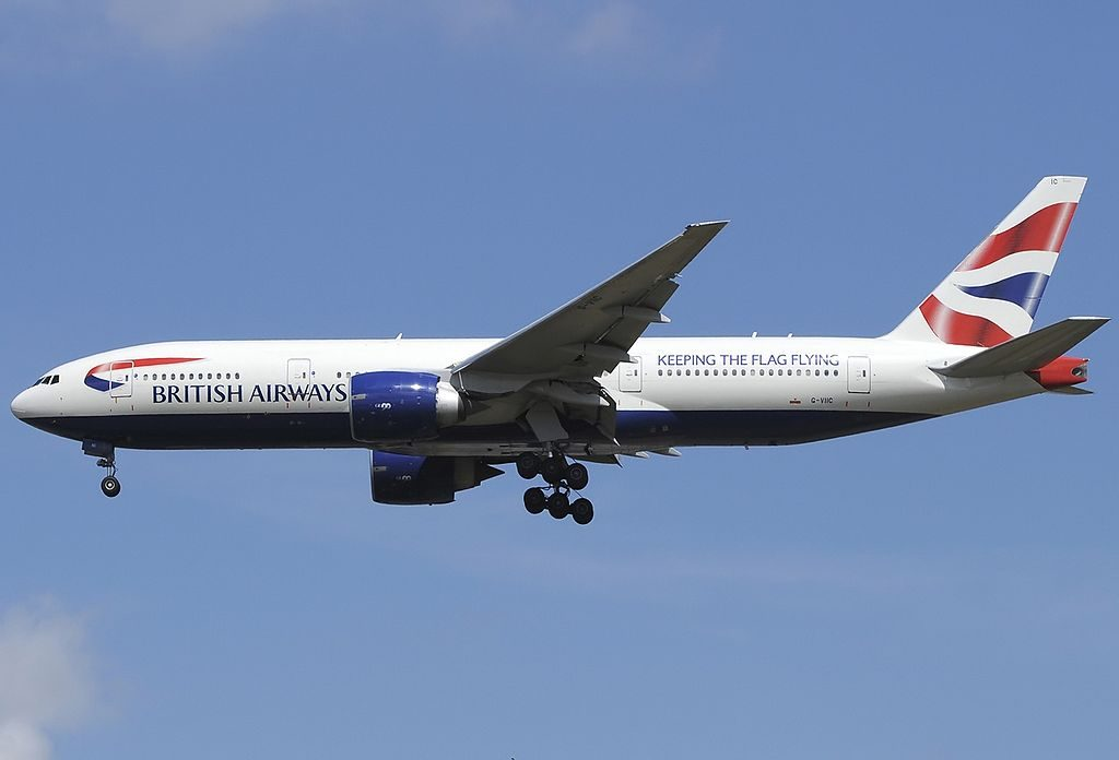 G VIIC Boeing 777 236ER British Airways at London Heathrow Airport
