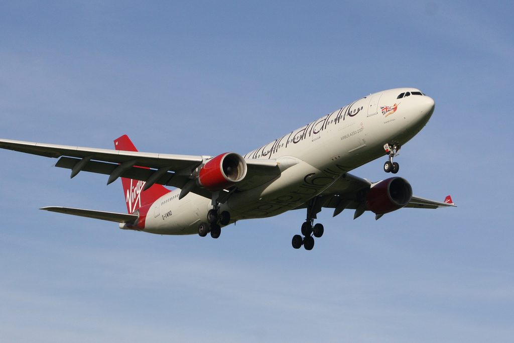 G VWND Virgin Atlantic Airways Airbus A330 223 Scarlet o'Hara at London Gatwick Airport