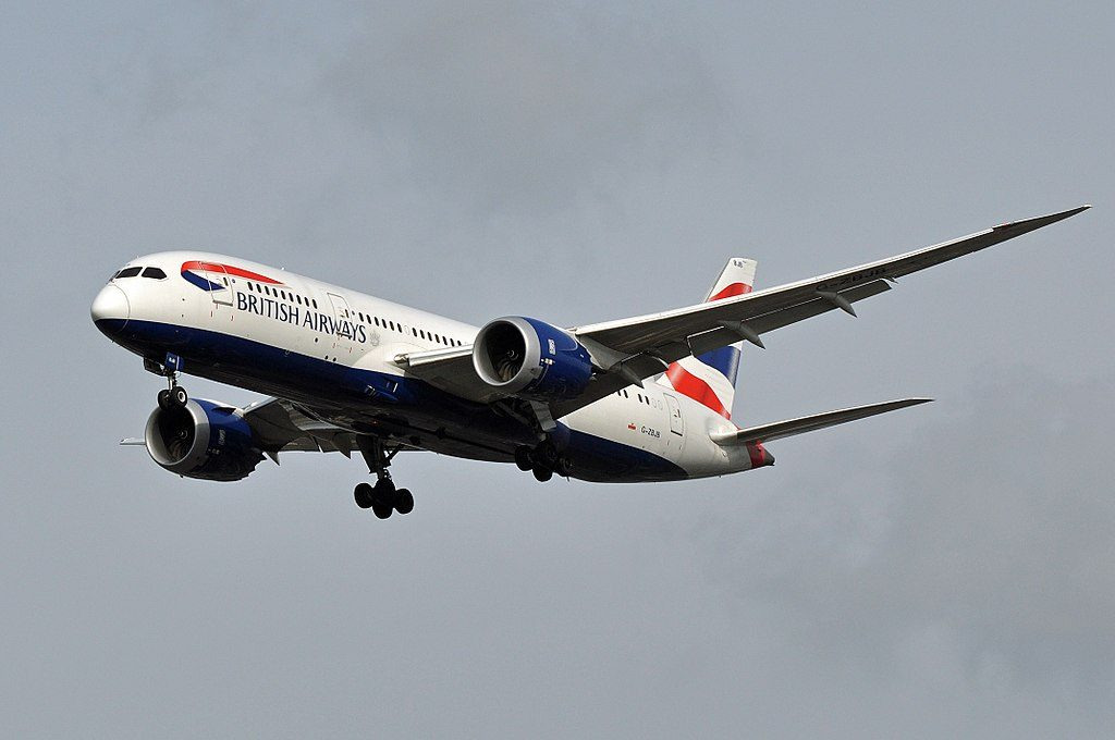 G ZBJB Boeing 787 8 Dreamliner of British Airways at London Heathrow Airport