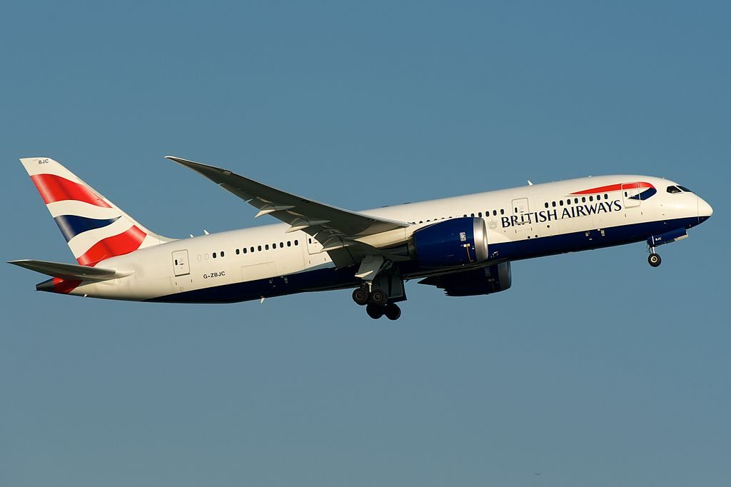 G ZBJC Boeing 787 8 Dreamliner of British Airways at Toronto Pearson International Airport