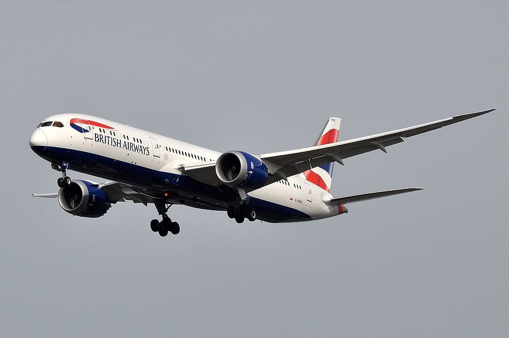 G ZBKE Boeing 787 9 Dreamliner of British Airways at London Heathrow Airport