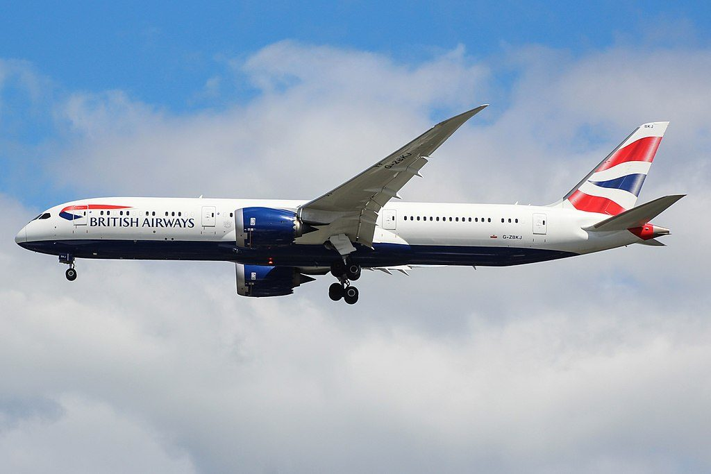 G ZBKJ Boeing 787 9 Dreamliner British Airways at London Heathrow Airport